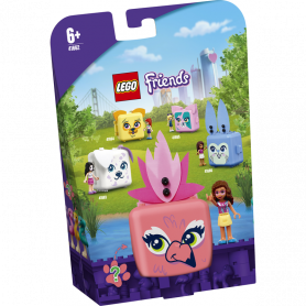 LEGO FRIENDS 41662 IL CUBO DEL FENICOTTERO DI OLIVIA