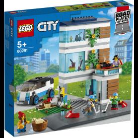 LEGO MY CITY 60291 VILLETTA   FAMILIARE