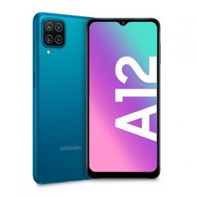 SAMSUNG A12 BLU 6,5  HD  8CORE 4/128GB FOTO 2 2 5 48M S.PHONE