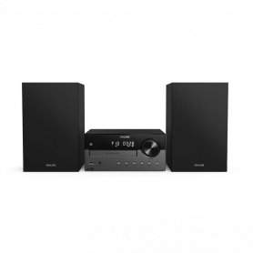 PHILIPS TAM4505-12 STEREO MICRO DAB C/CD BT USB AUX IN BLACK 60W