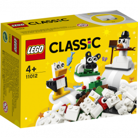 LEGO CLASSIC 11012 MATTONCINI BIANCHI CREATIVI