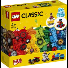 LEGO CLASSIC 11014 MATTONCINI E RUOTE