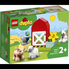 LEGO DUPLO TOWN 10949 GLI ANIMALI DELLA FATTORIA
