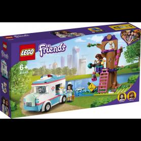 LEGO FRIENDS 41445 L AMBULANZA DELLA CLINICA VETERINARIA