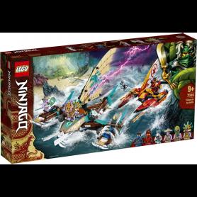 LEGO NINJAGO 71748 BATTAGLIA IN MARE DEI CATAMARANI
