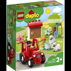 LEGO DUPLO TOWN 10950 IL TRATTORE DELLA FATTORIA E I SUOI ANIMALETTI