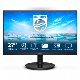 PHILIPS PH271V8LA MULTIMEDIALE  MONITOR 27  LED 1920X1080 75HZ 250CD/M 4MS HDMI VGA