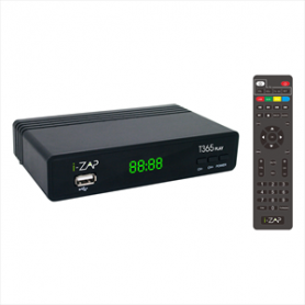 I-ZAP IZAPT365PL DECODER DIG TERR ZAPPER T2 HEVC HD FREE TO AIR-RE