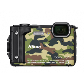 NIKON W300 CAMOUFLAGE FOTOCAMERA DIGITALE