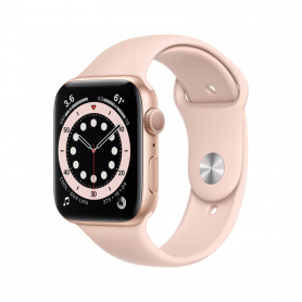APPLE WATCH SERIES 6 GPS, 40MM GOLD  PINK SAND MG123TY/A