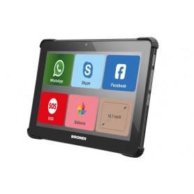 BRONDI AMICOTABLE TABLET SENIOR 10,1  3G 2SIM 4CORE 1/8GB 2/5MP SOS