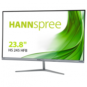 HANNSPREE HS245HFB MONITOR 23.8  LED IPS FHD 1920X1080 16:9, 5MS, 250CD, GRIGIO SCURO, VGA HDMI