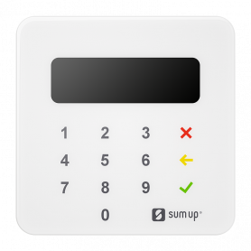 SUM-UP AIR LETTORE CARD PAGAMENTI MOBILE BLUETOOTH/NFC