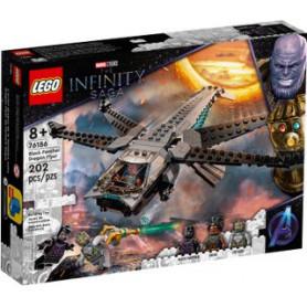 LEGO SUPER HEROES 76186 IL DRAGONE VOLANTE DI BLACK PANTHER ETA 8