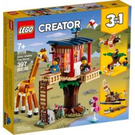 LEGO CREATOR 31116 CASA SULL ALBERO DEL SAFARI