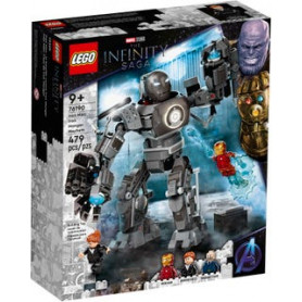 LEGO SUPER HEROES 76190 IRON MAN: IRON MONGER SCATENA IL CAOS ETA 9