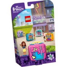 LEGO FRIENDS 41667 IL CUBO DEI VIDEOGIOCHI DI OLIVIA ETA 6