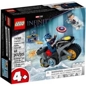 LEGO SUPER HEROES 76189 SCONTRO TRA CAPTAIN AMERICA E HYDRA ETA 4