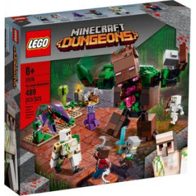 LEGO MINECRAFT 21176 L ABOMINIO DELLA GIUNGLA ETA 8
