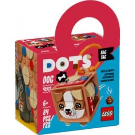 LEGO DOTS 41927 BAG TAG - CAGNOLINO ETA 6