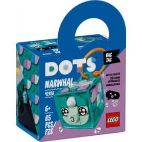 LEGO DOTS 41928 BAG TAG - NARVALO ETA 6