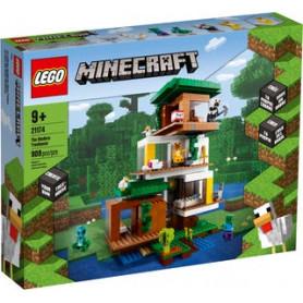 LEGO MINECRAFT 21174 LA CASA SULL ALBERO MODERNA ETA 9