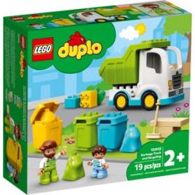 LEGO DUPLO TOWN 10945 CAMION DELLA SPAZZATURA E RICICLAGGIO ETA 2