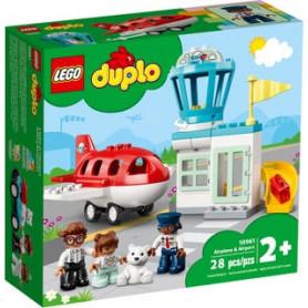 LEGO DUPLO TOWN 10961 AEREO E AEROPORTO ETA 2