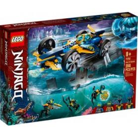 LEGO NINJAGO 71752 BOLIDE SUBACQUEO DEI NINJA ETA 8