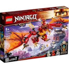 LEGO NINJAGO 71753 L ATTACCO DEL DRAGONE DEL FUOCO ETA 8